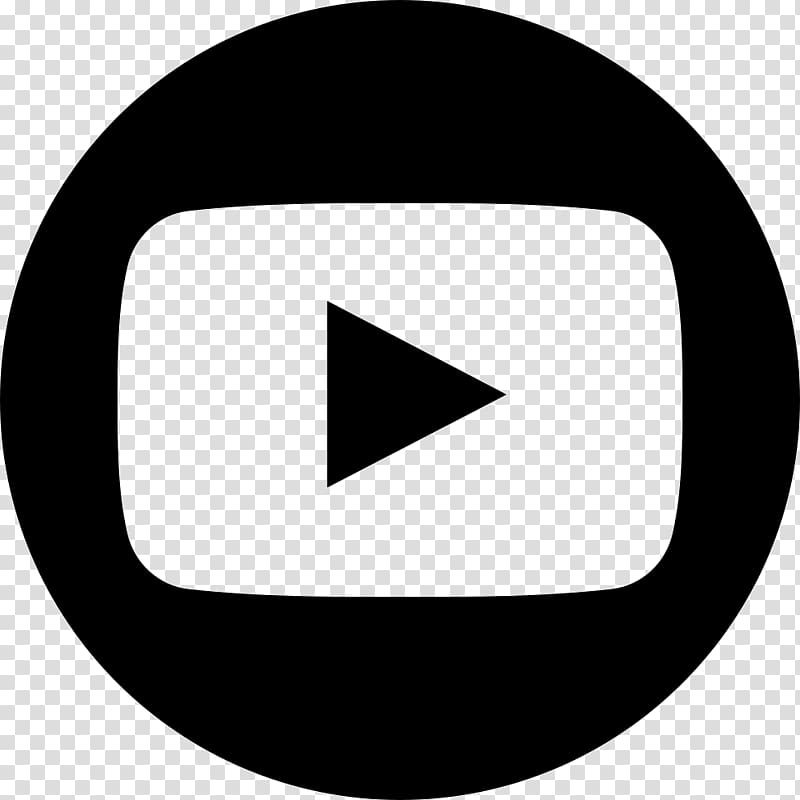 YouTube Logo Computer Icons, youtube, black play button.