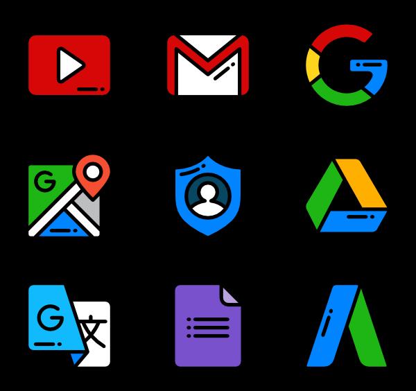35 google icon packs.