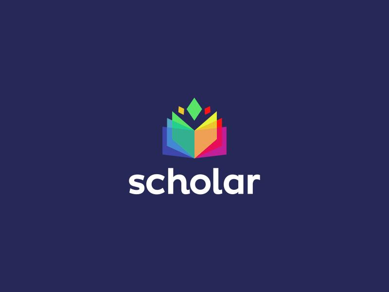 Scholar App Logo Design by Dalius Stuoka.