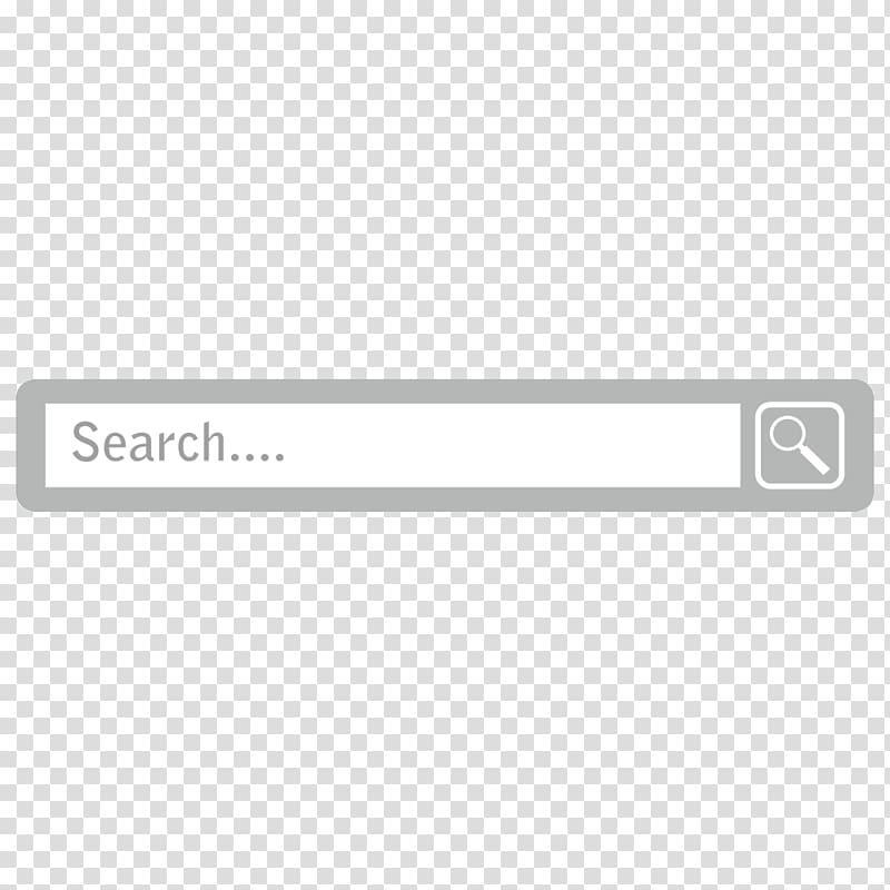 Search icon, Square Angle, Creative search box transparent.