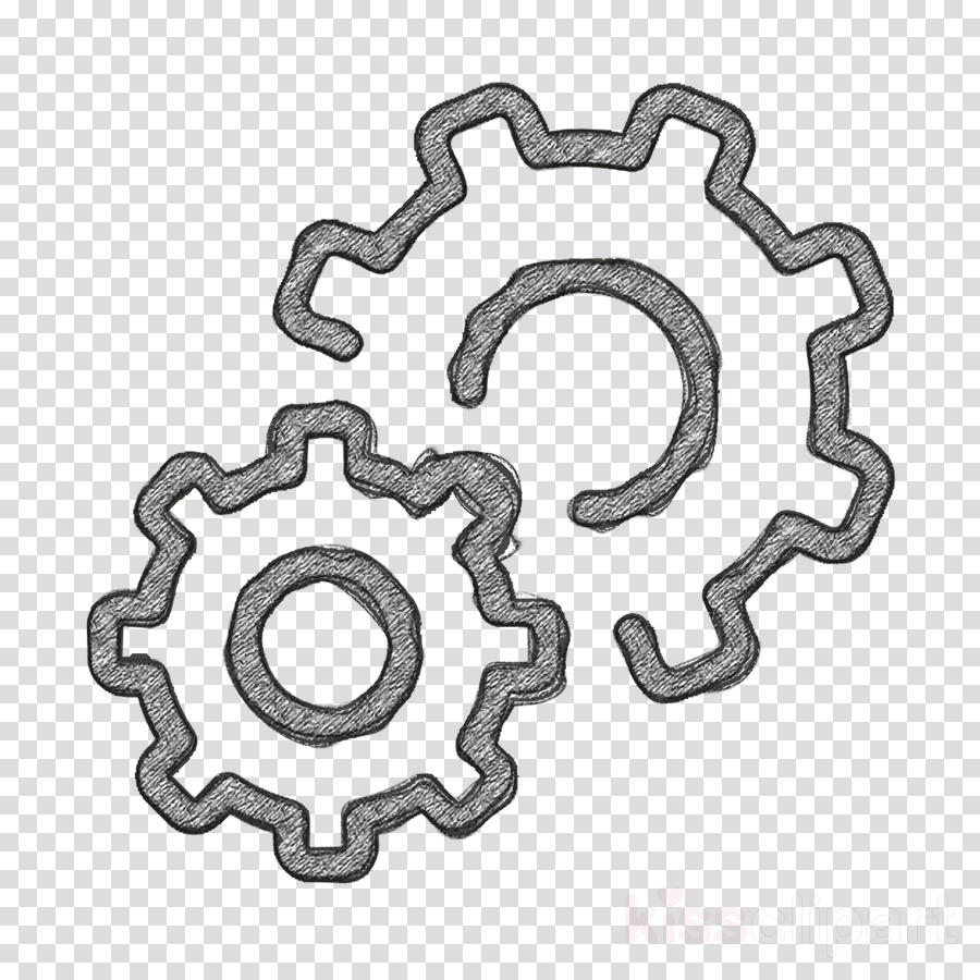 Gear icon Business SEO icon Settings icon clipart.