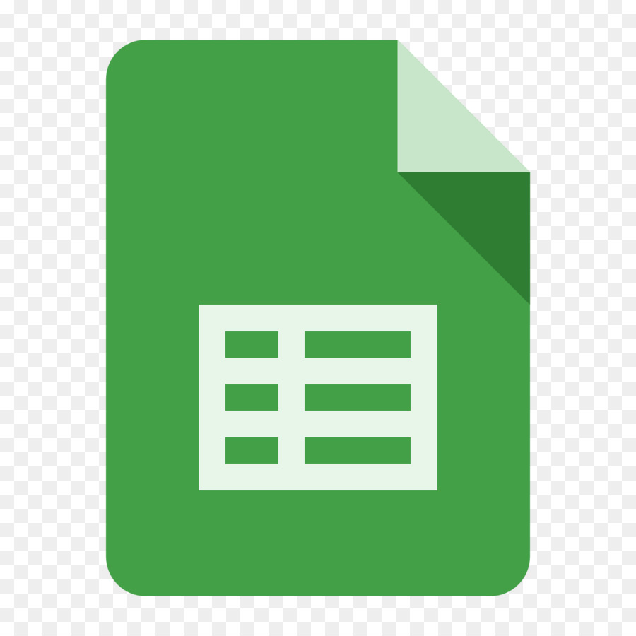 Google Sheets Icon clipart.