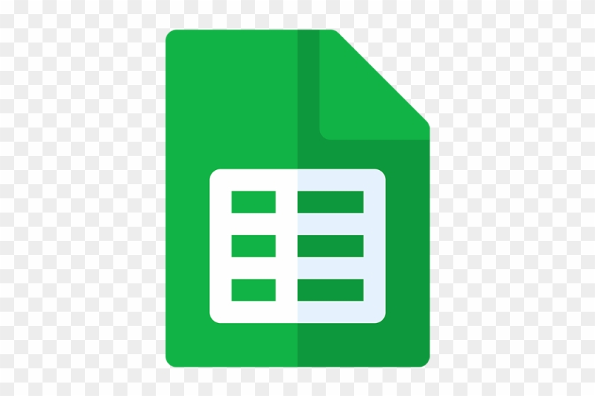 Google Sheets Icon Eps File.