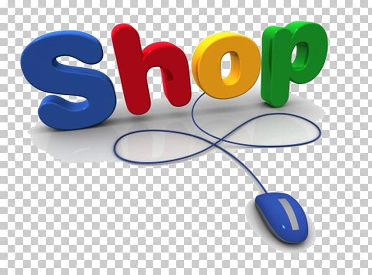 Online shopping Online and offline Logo, logo olshop PNG.