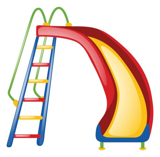 Slide Playground Clipart.
