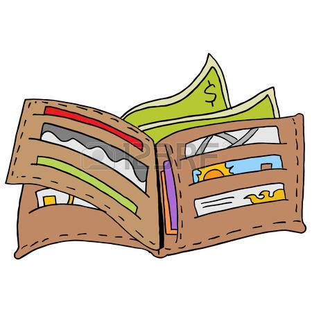 Clipart Of Wallet.