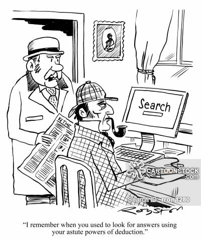 Googling Cartoons and Comics.