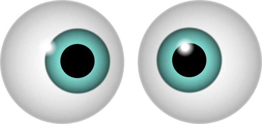 2 Green Eyes Clipart Clipground