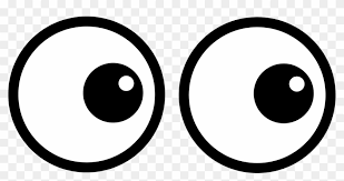ROUND GOOGLY EYES CLIPART.