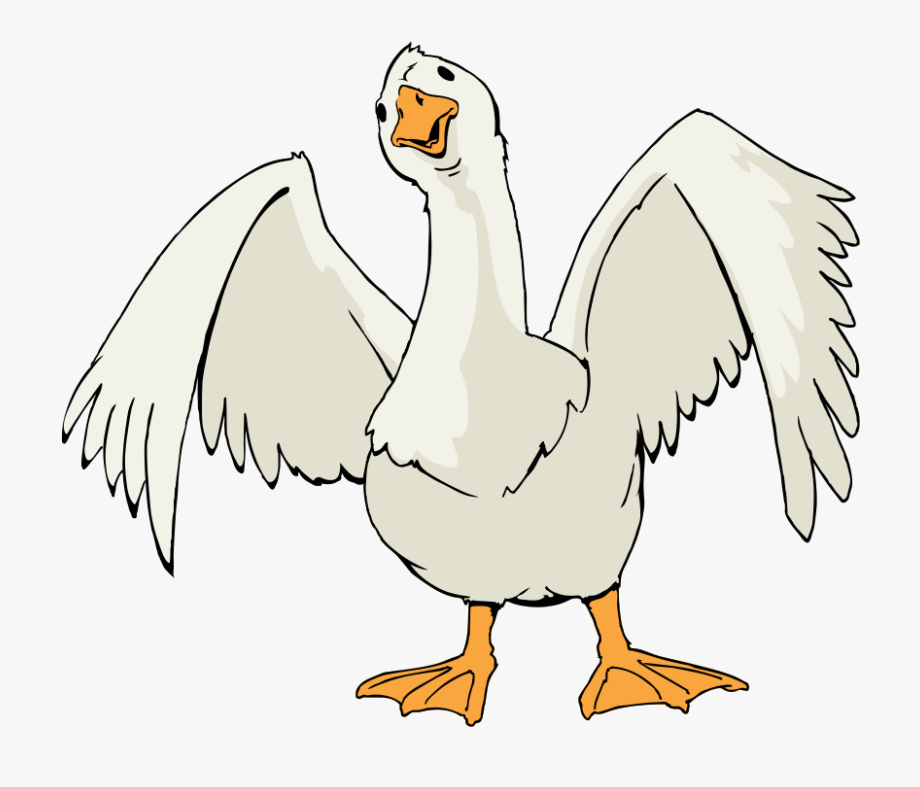 Free To Use &, Public Domain Goose Clip Art.