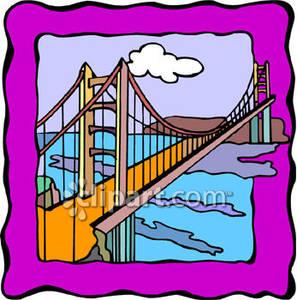 Golden Gate Bridge In San Francisco.