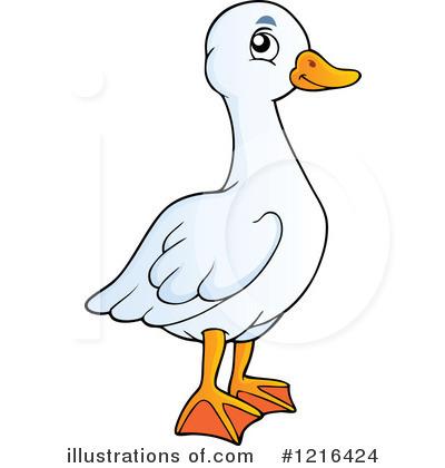 Golden Goose Clipart.