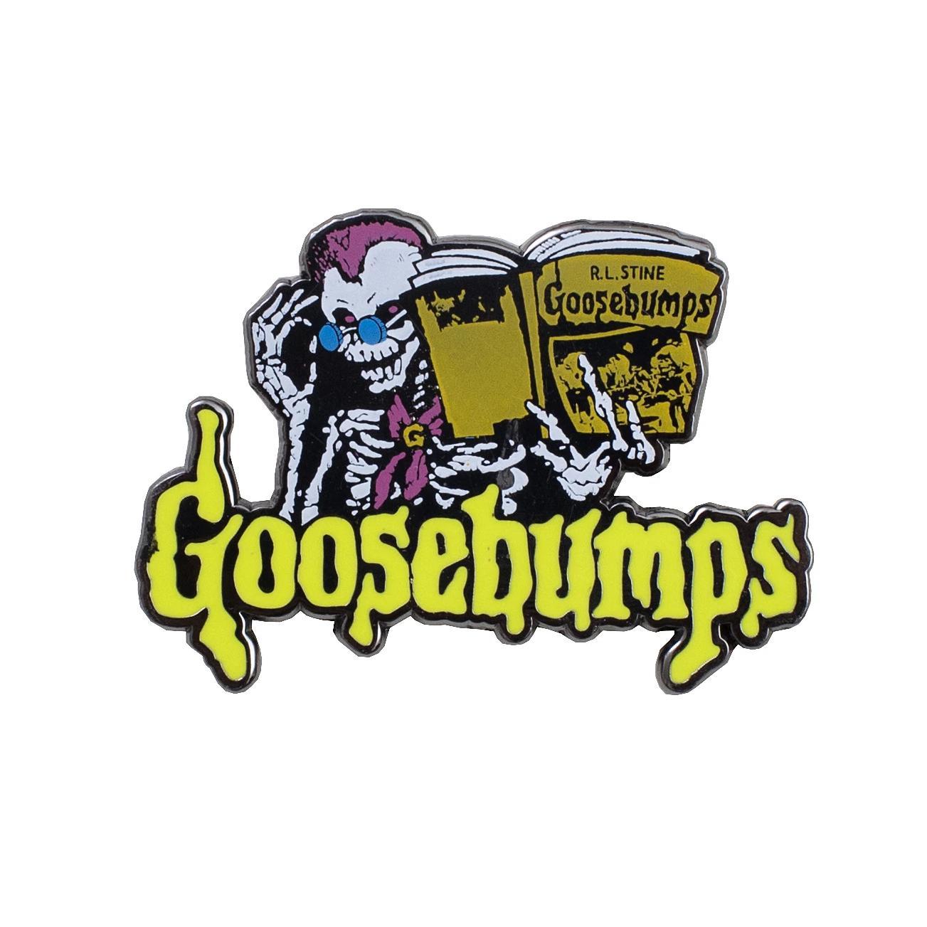 Goosebumps Logo Pin.