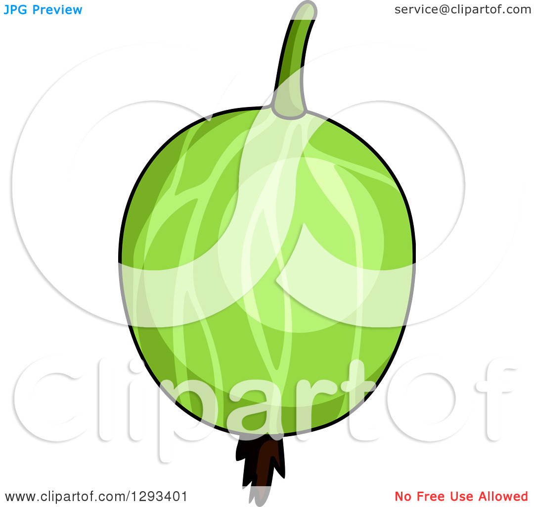 Clipart of a Shiny Gooseberry.