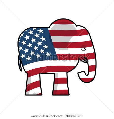 Gop Elephant Stock Images, Royalty.