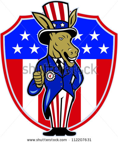 Gop Flag Stock Images, Royalty.