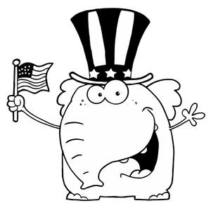 Republican Clipart Image.