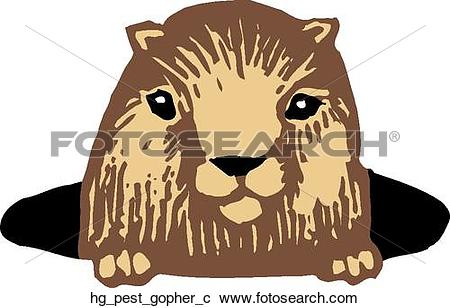 Gopher Clip Art and Illustration. 225 gopher clipart vector EPS.