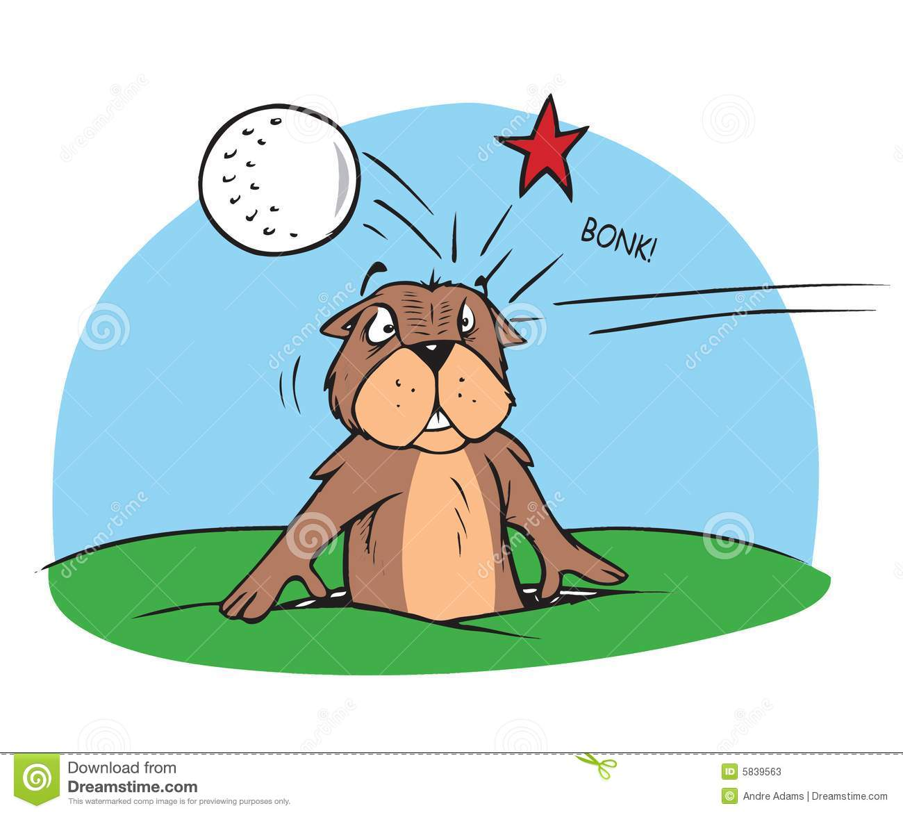 Gopher Cartoon Stock Illustrations.