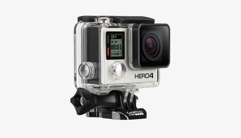 Gopro Hero 4 Png Vector Transparent Library.