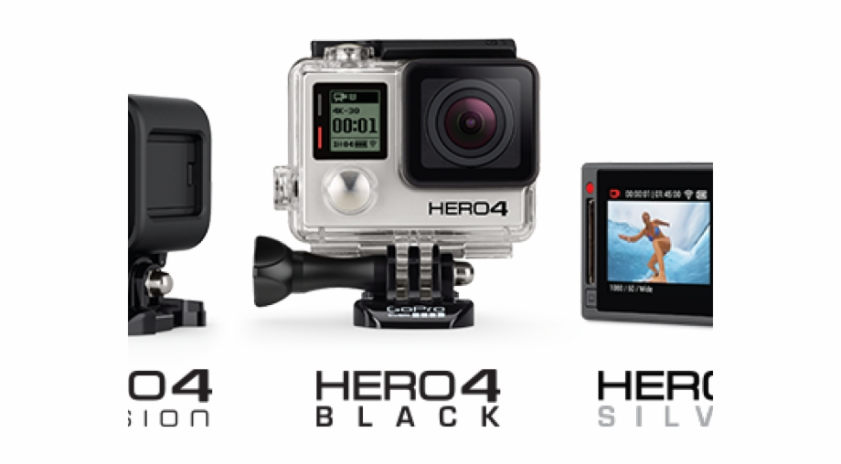 Gopro Hero 4 With Screen.
