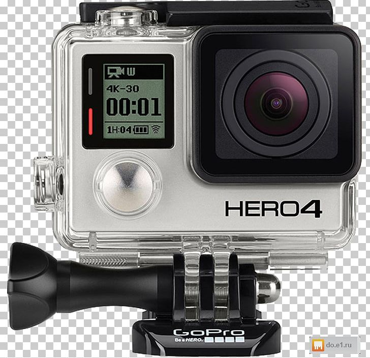 GoPro Hero 4 Action Camera Camcorder PNG, Clipart, Action.