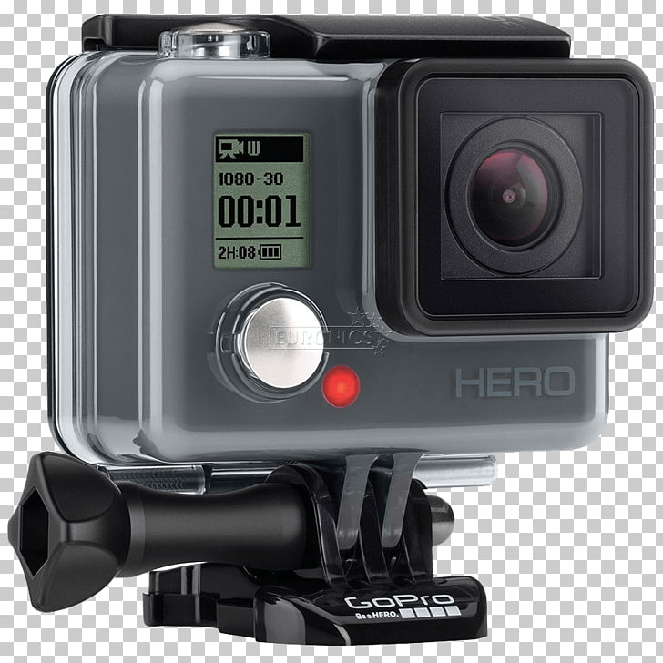 GoPro HERO Session Video Cameras, GoPro PNG clipart.