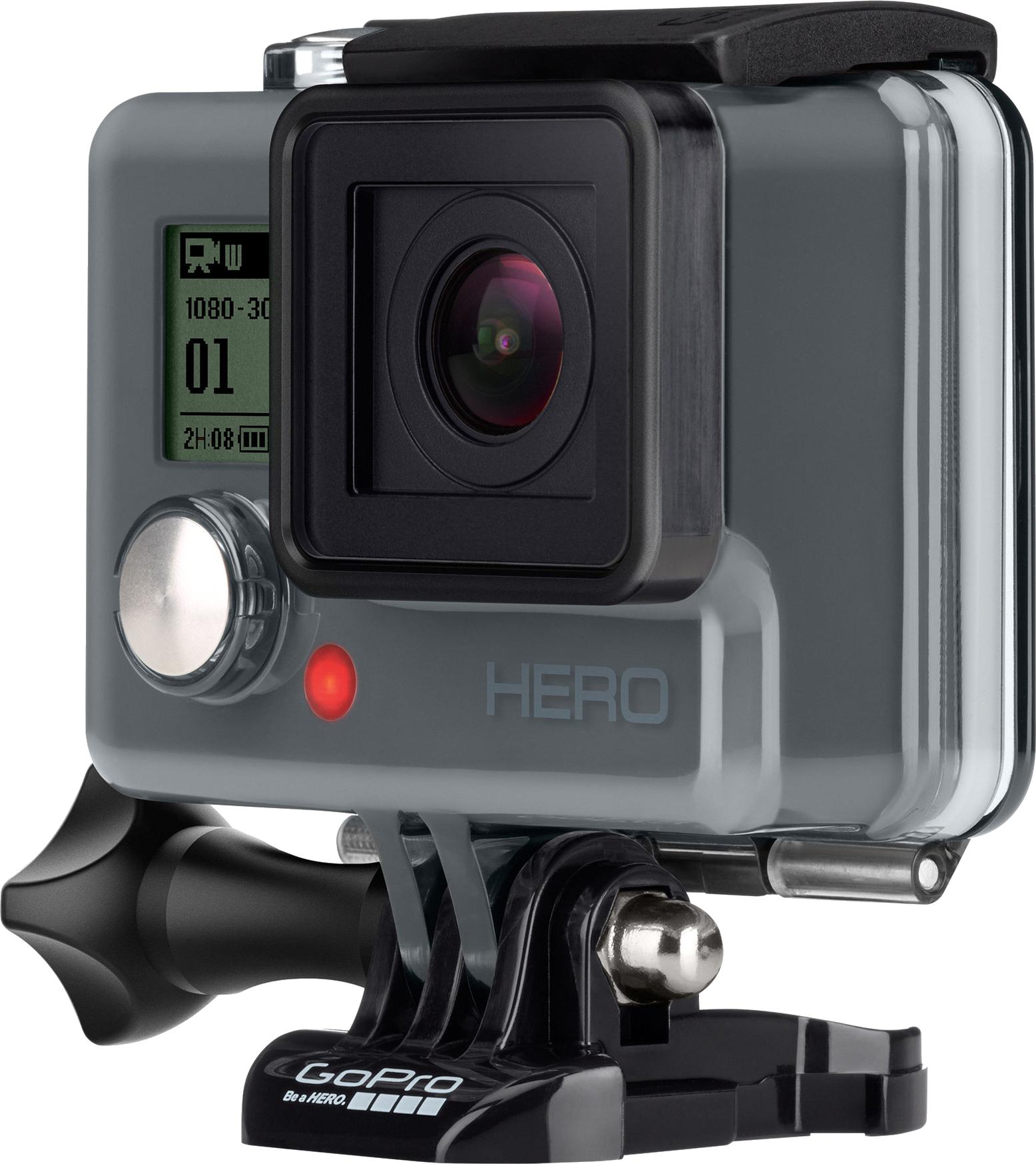 GoPro Hero camera PNG.