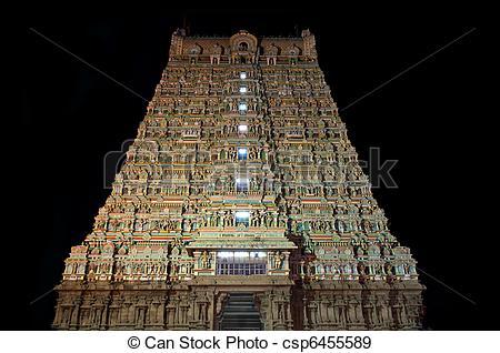 Stock Photographs of Hindu Temple.