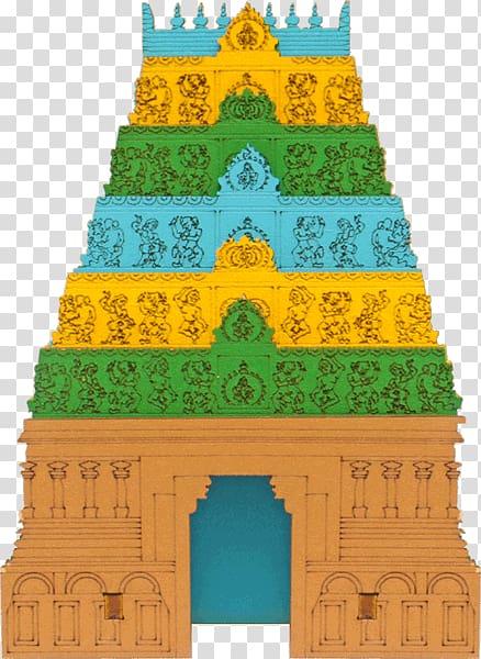 Varadharaja Perumal Temple, Kanchipuram Gopuram Hindu Temple.