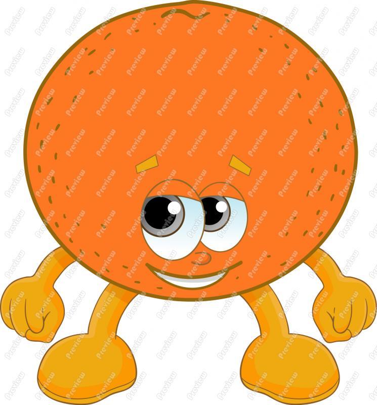 Orange Clip Art Images.