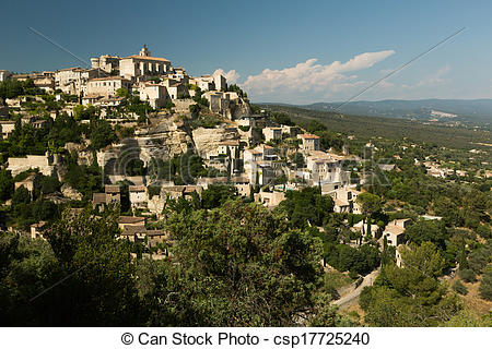 Stock Photo of Gordes, Provence, France.