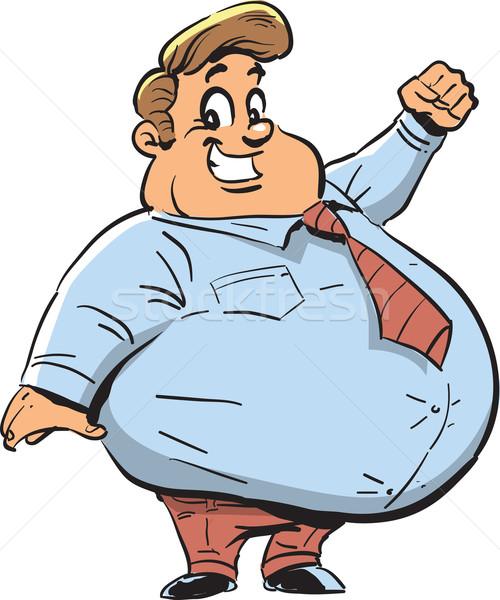 Fat Man Vector at GetDrawings.com.