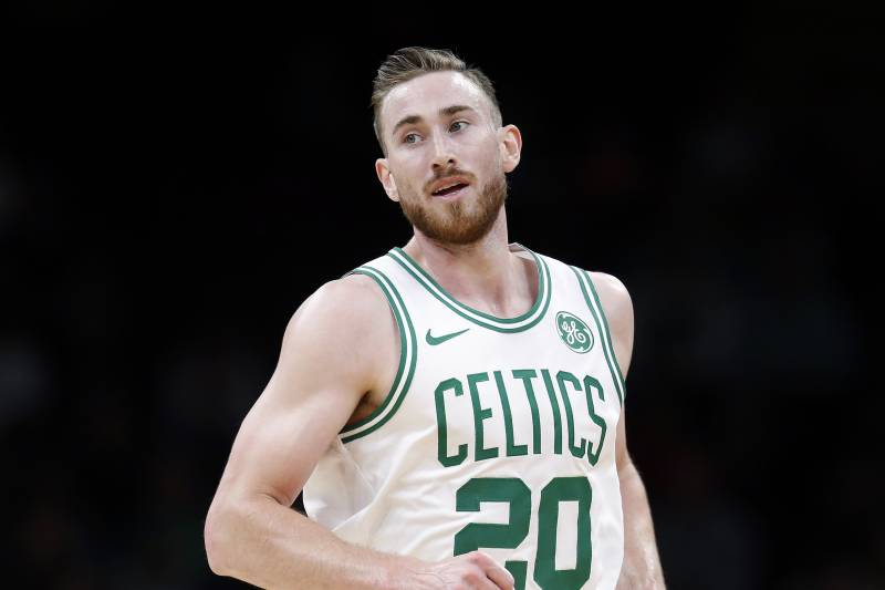 Celtics\' Gordon Hayward \'Good to Go\' vs. Raptors After Foot.