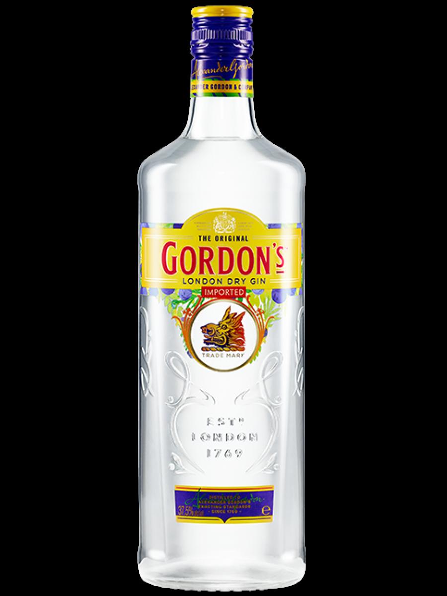 Gordons London Dry Gin 1 liter.