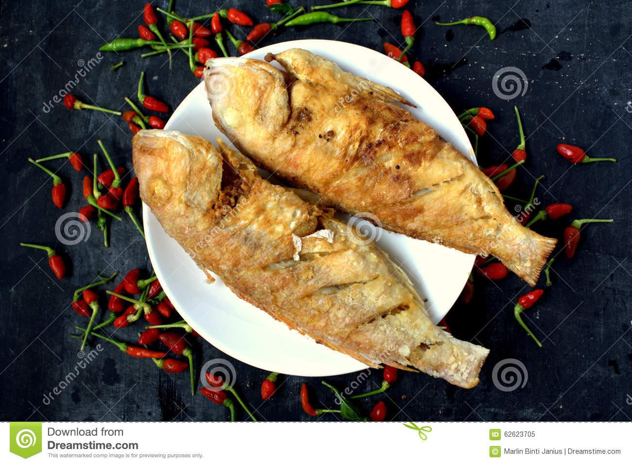 Ikan Goreng.