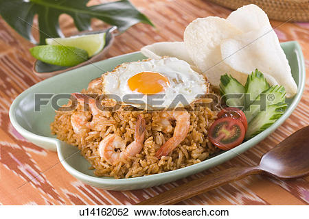 Stock Photo of Nasi Goreng u14162052.