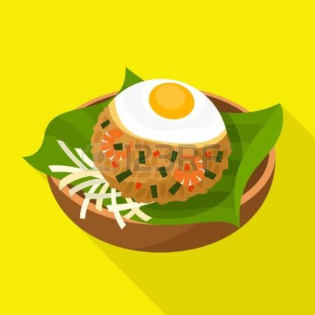 735 Fried Rice Stock Vector Illustration And Royalty Free Fried.