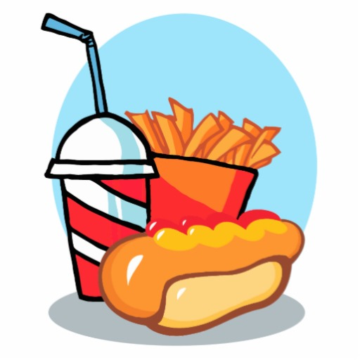 Gorge Food Clipart.