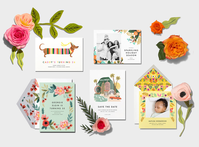 Rifle Paper Co. Partners with Paperless Post to Create a Gorgeous.