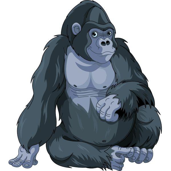 17 Best ideas about Gorilla Clipart on Pinterest.
