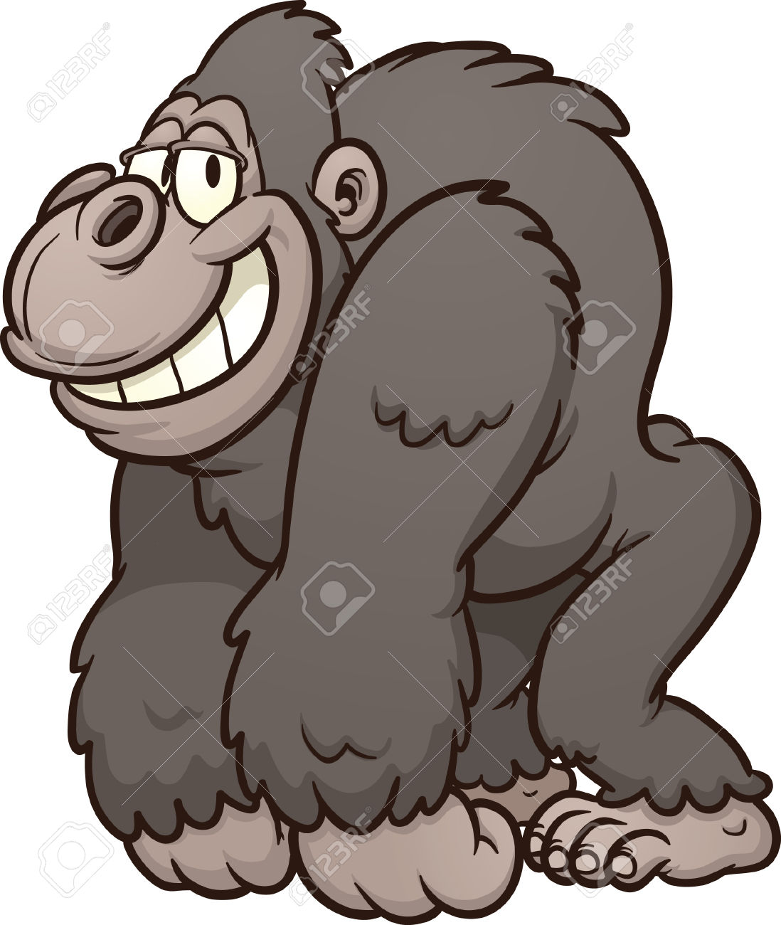 18,842 Gorilla Stock Vector Illustration And Royalty Free Gorilla.