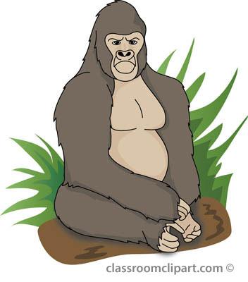 Gorilla Clipart.