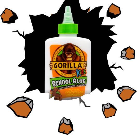 Gorilla School Glue.