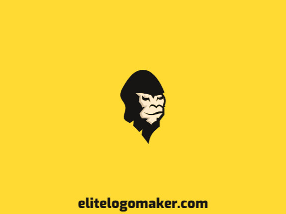 Gorilla Head Logo.