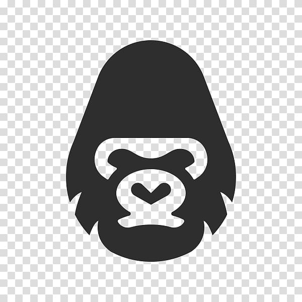Ape , Gorilla Logo, gorilla transparent background PNG.