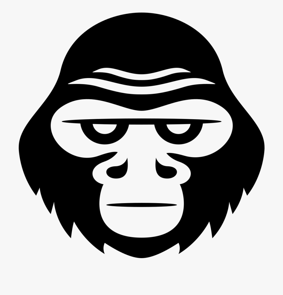 Gorilla Clipart Cartoon.
