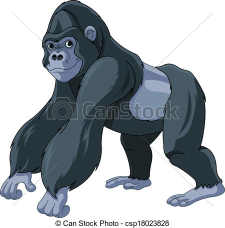 Gorilla Illustrations and Clipart. 4,679 Gorilla royalty free.
