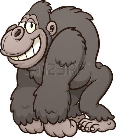 17,199 Gorilla Stock Vector Illustration And Royalty Free Gorilla.