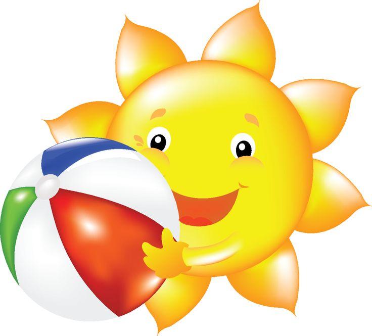Summer Sunshine Clipart.